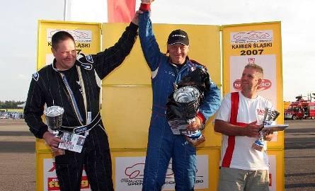 Marcin Blauth, Michael Jensen, Chris Skinner - zwycięzcy King of Europe w Kamieniu Śląskim.