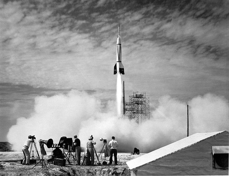 Start rakiety V2