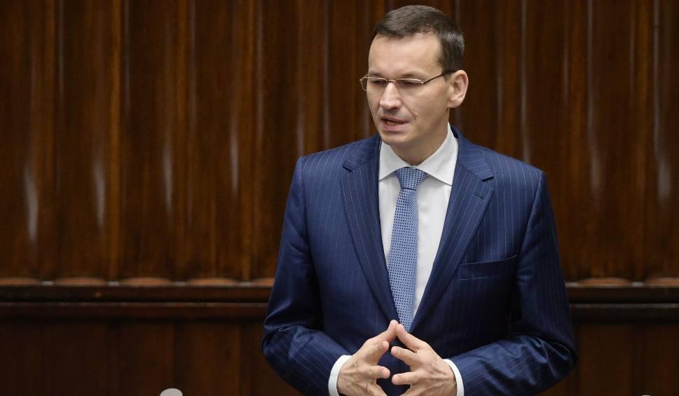 Film do artykułu: Premier Mateusz Morawiecki złożył wniosek o wotum zaufania dla rządu. W sobotę zapowiedź nowych programów społecznych