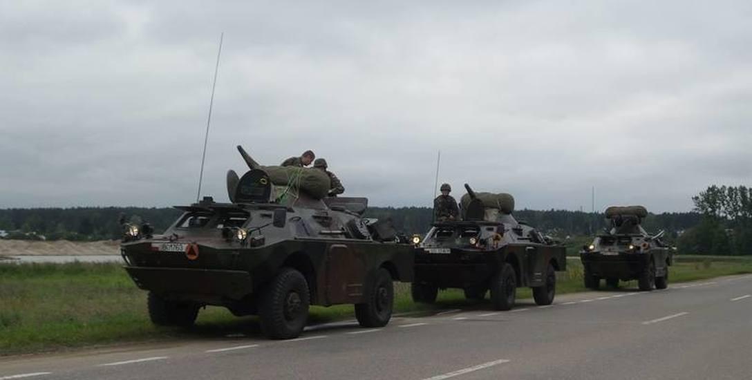 Ostatnimi czasy opancerzone wozy piechoty widywane są w okolicach Wasilkowa i Białegostoku.  Ale to wszystko co jest pewne. Reszta informacji - zwłaszcza