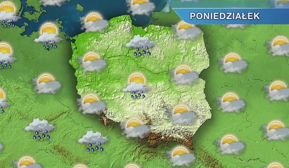 Film do artykułu: Pogoda w Opolu i na Opolszczyźnie. Poniedziałek z przelotnymi opadami deszczu