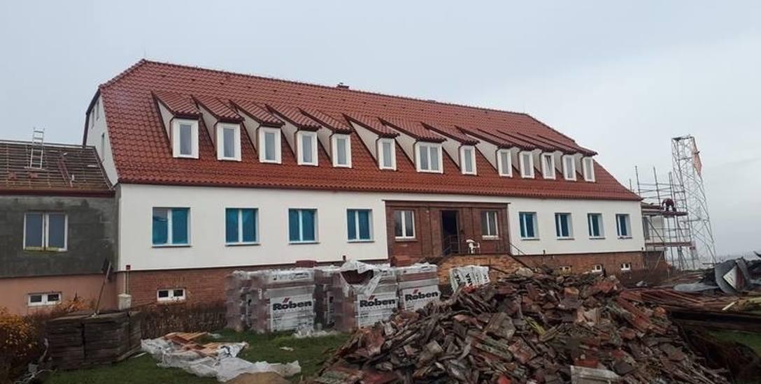 Koniecznych zmian doczekał się główny budynek administracyjno-socjalny