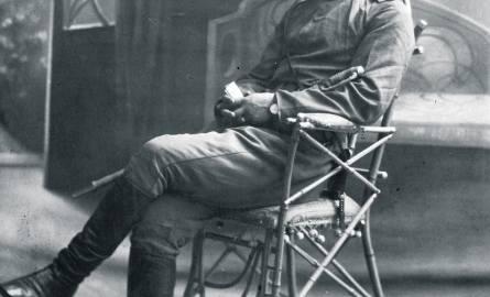 Na tym zdjęciu z 1919 r. Jan Czaplo napisał: Dla ukochanego Papusia od syna