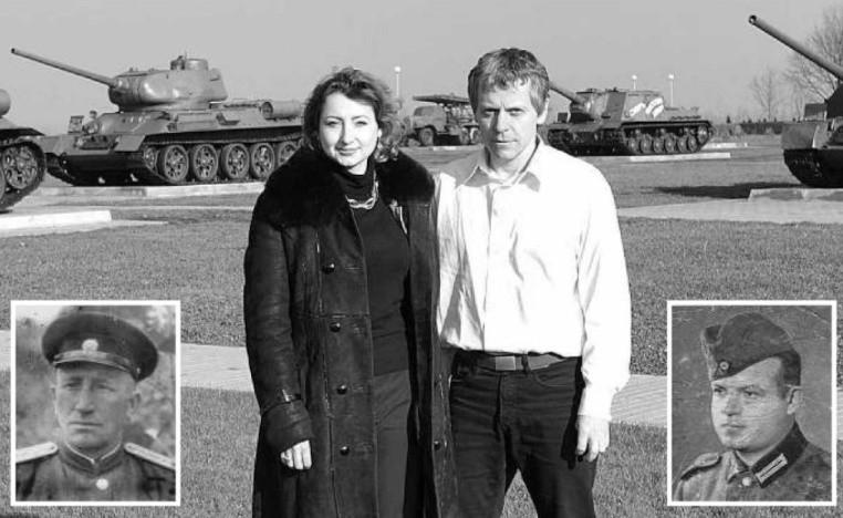 Ksenia Golub i Artur Klose na polu bitwy pod Kurskiem