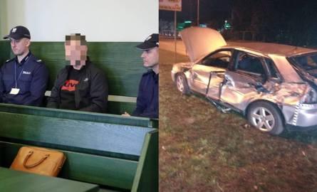 Białystok. Pościg na Składowej. Jechał pijany i z dożywotnim zakazem prowadzenia auta. Pirat skazany na 4 lata i 3 miesiące więzienia
