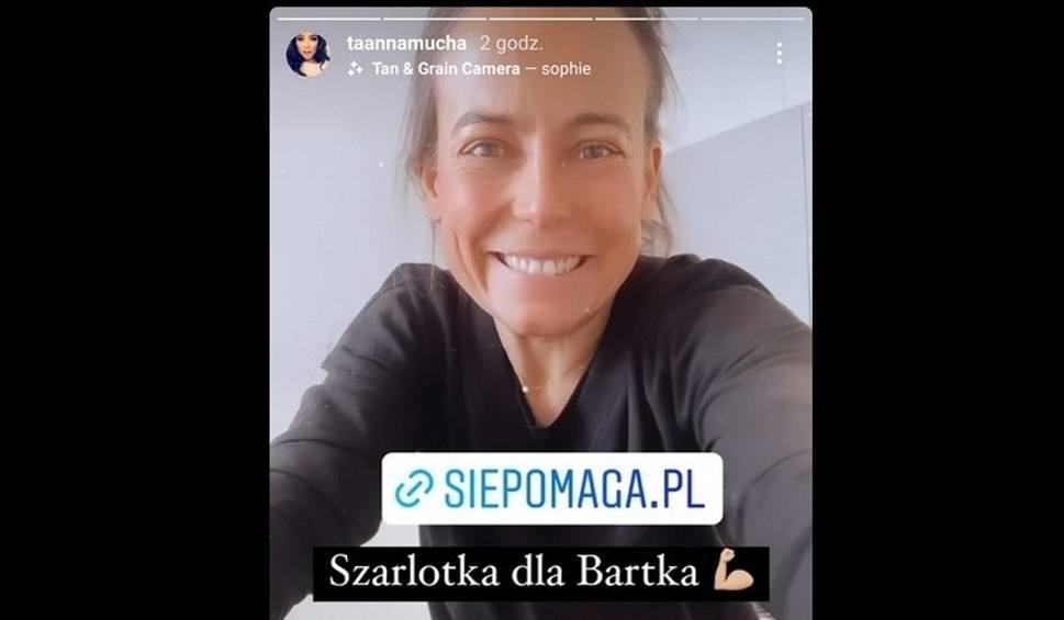 Film do artykułu: Anna Mucha upiecze szarlotkę, pomagając Bartusiowi Przychodzkiemu z Sandomierza (ZDJĘCIA)!