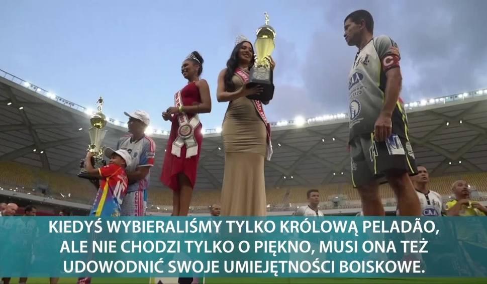 Film do artykułu: Turniej piłkarski i... konkurs piękności. Jedyna taka impreza sportowa na świecie odbywa się na stadionie, który gościł mecze mundialu