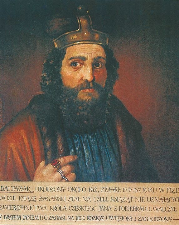 Urodzony ok. 1412 r. Zmarł 15 lipca 1472 r. w Przewozie. Książę żagański, walczył z bratem Janem II o Żagań. Przegrał, uwięziony w wieży w Przewozie