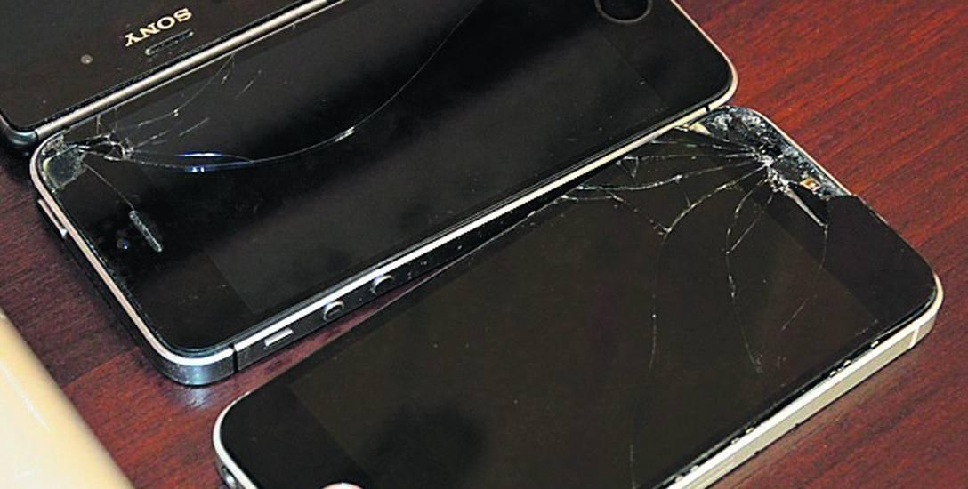 Na sprzęcie, który użytkowany był przez byłego burmistrza widać rozległe ślady mechanicznych zniszczeń.