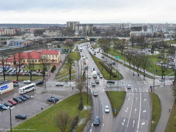 W tym miejscu miał powstać Intermodalny Węzeł Komunikacyjny Białystok
