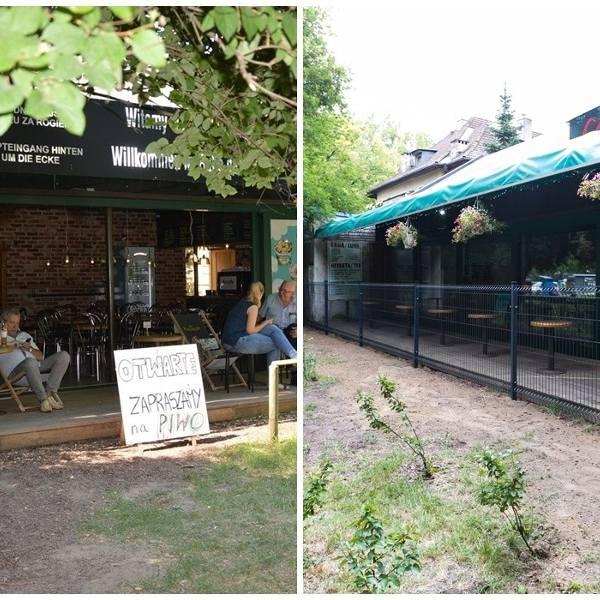 """ZUK zastosował radykalne rozwiązanie i ustawił płot przed wejściem na taras kawiarni """"Cafe pod Ptakami"""" [ZDJĘCIA]"""