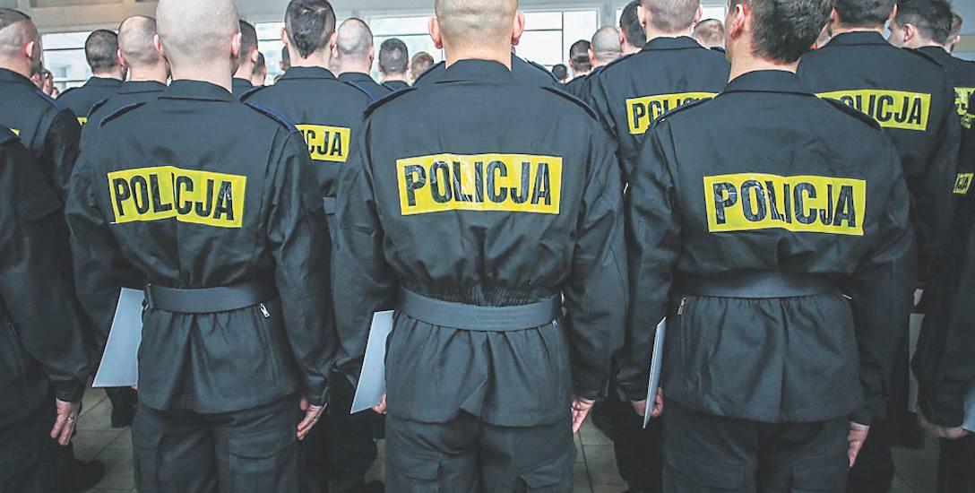 Chcieli być w policji, ale nie dali rady w szkole