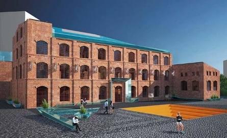 Tak wyglądają budynki starej fabryki według architekta Wojciecha Rogowskiego. Proponuje on m.in. powstanie przeszklonej nadbudówki.