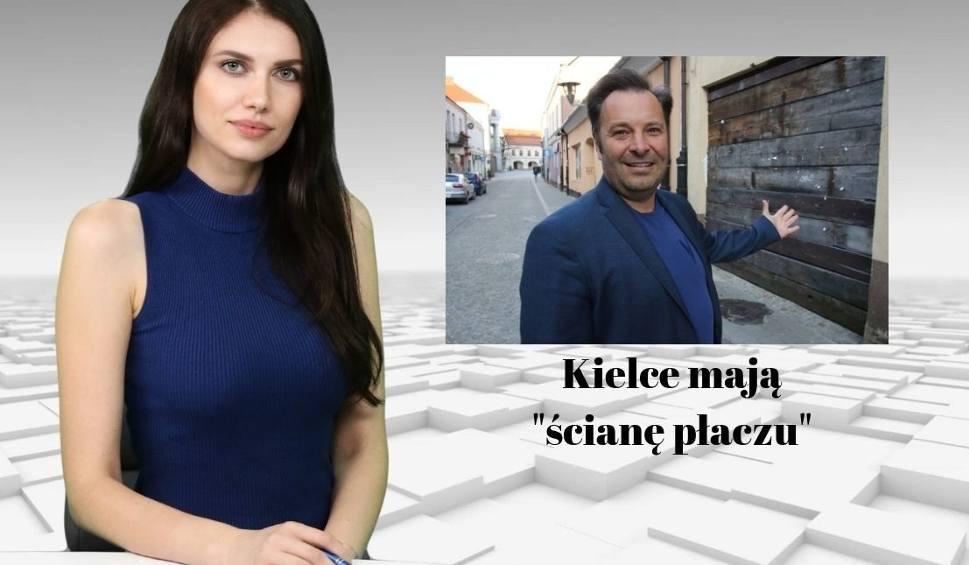 """Film do artykułu: Wiadomości Echa Dnia. Kielce mają """"ścianę płaczu"""""""