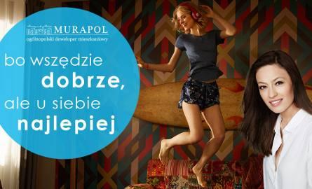 """Magdalena Różczka w reklamach Murapolu przekonuje: """"bo wszędzie dobrze, ale u siebie najlepiej"""""""