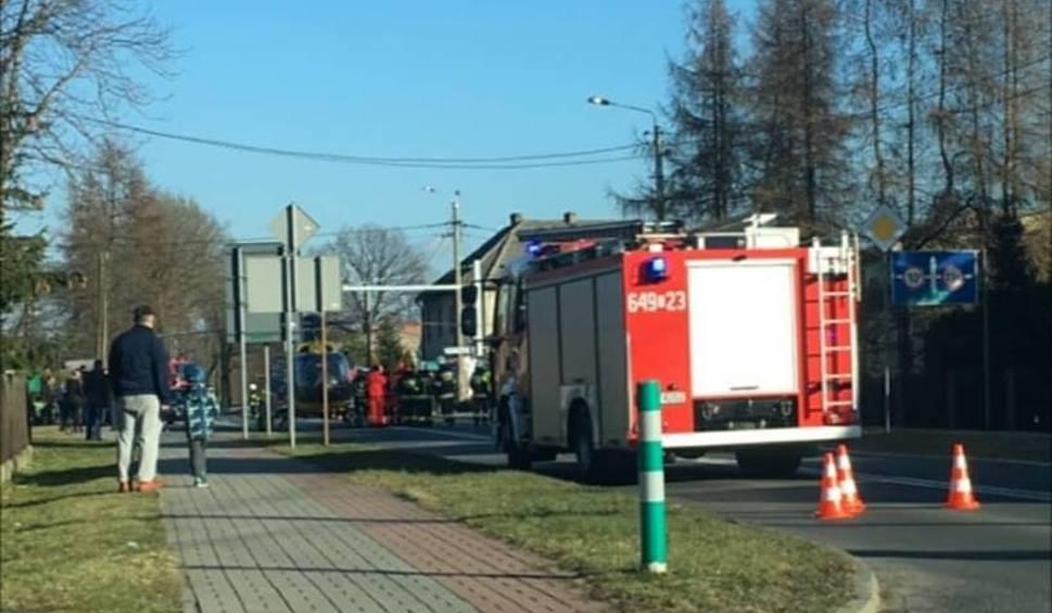 Film do artykułu: Wypadek w Bojszowach na DW 931: Pięć osób rannych