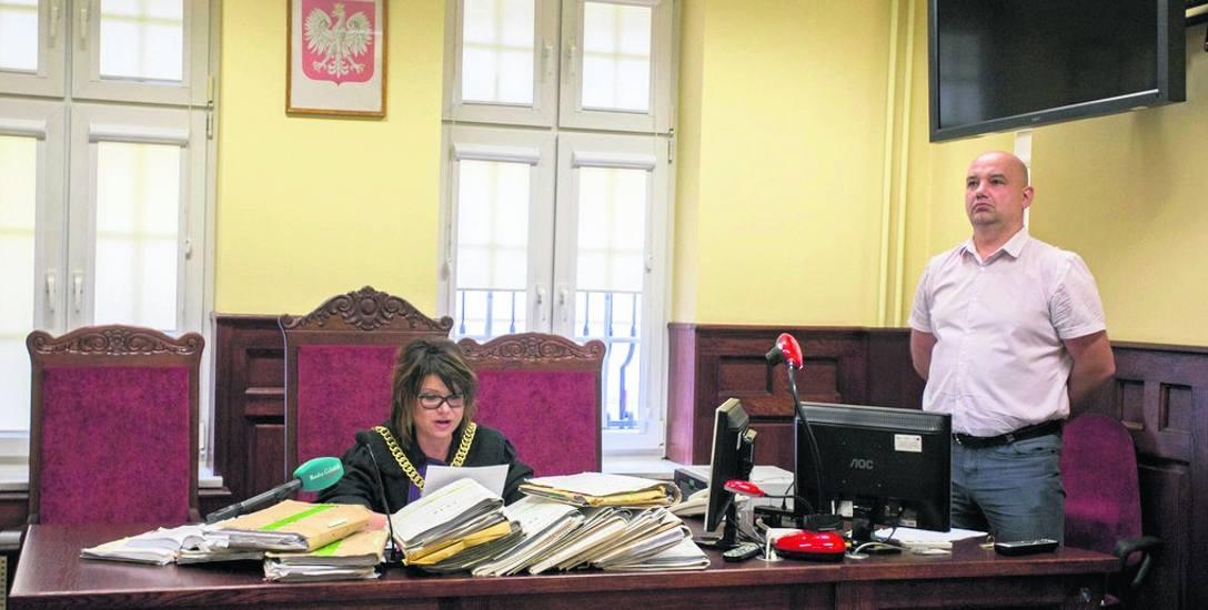 Ogłoszenie wyroku w Sądzie Okręgowym w Słupsku w czerwcu tego roku.