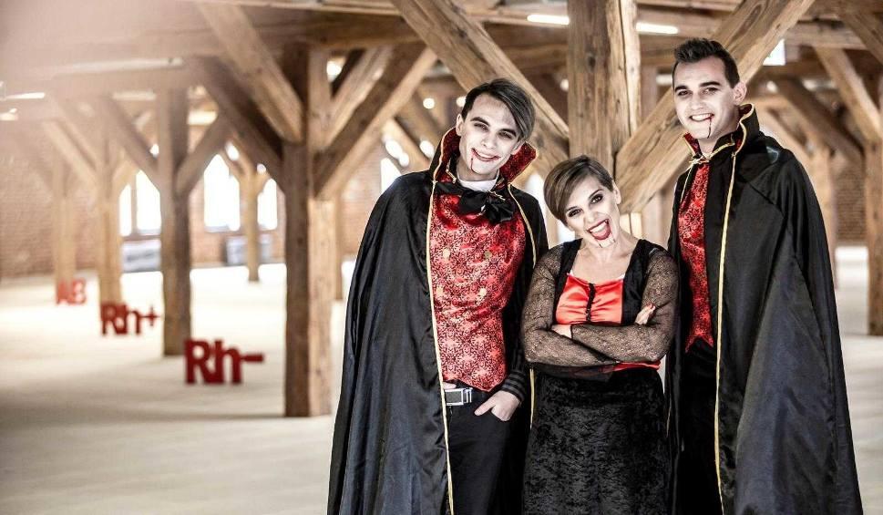 Film do artykułu: Wampiriada w Katowicach: w środę 25 października będzie promować oddawanie krwi  ZDJĘCIA