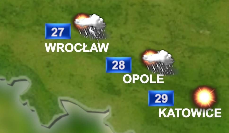 Film do artykułu: Prognoza pogody na 16 sierpnia: burze, upał i deszcz na Śląsku i woj. śląskim WIDEO