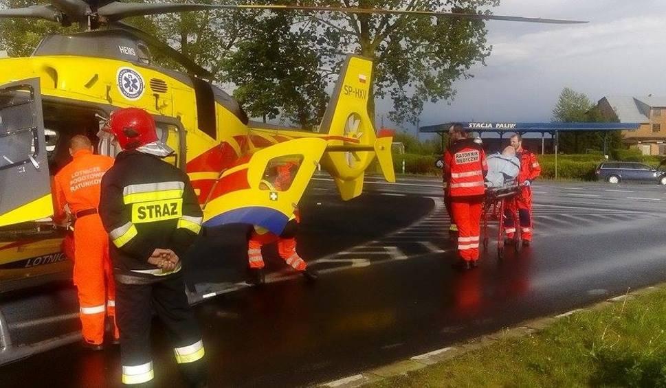 Film do artykułu: Wypadek koło Ramlewa. Zderzyły się dwa auta [zdjęcia]