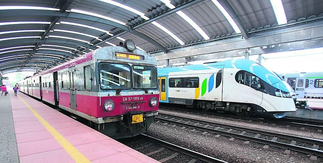 Na trasie Katowice - Bohumin jeżdżą tylko wysłużone pociągi EN75