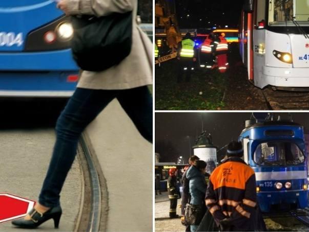 Tragiczne wypadki w Krakowie. MPK ostrzega: tramwaj nie zatrzyma się w miejscu!