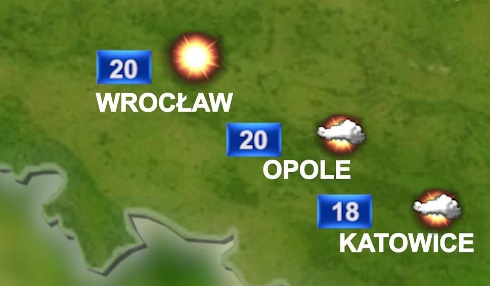 Film do artykułu: Pogoda na środę na Śląsku: Pochmurnie, ale bez burz. Może popadać
