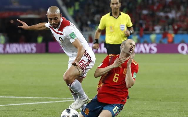 5af96b0aa Hiszpania uratowała remis z Marokiem