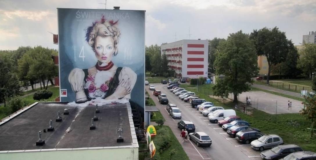 W Częstochowie od kilku lat powstają kolejne muralne