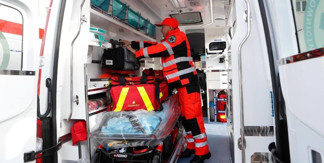 Katowice: Pomogli ofierze wypadku. Mogli zarazić się wirusem HIV