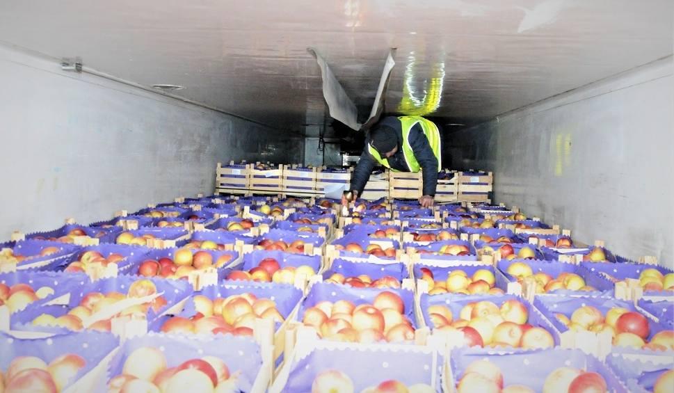 Film do artykułu: Nielegalni imigranci z Afganistanu przyjechali pod Nisko ukryci w naczepie tira z jabłkami! (zdjęcia)