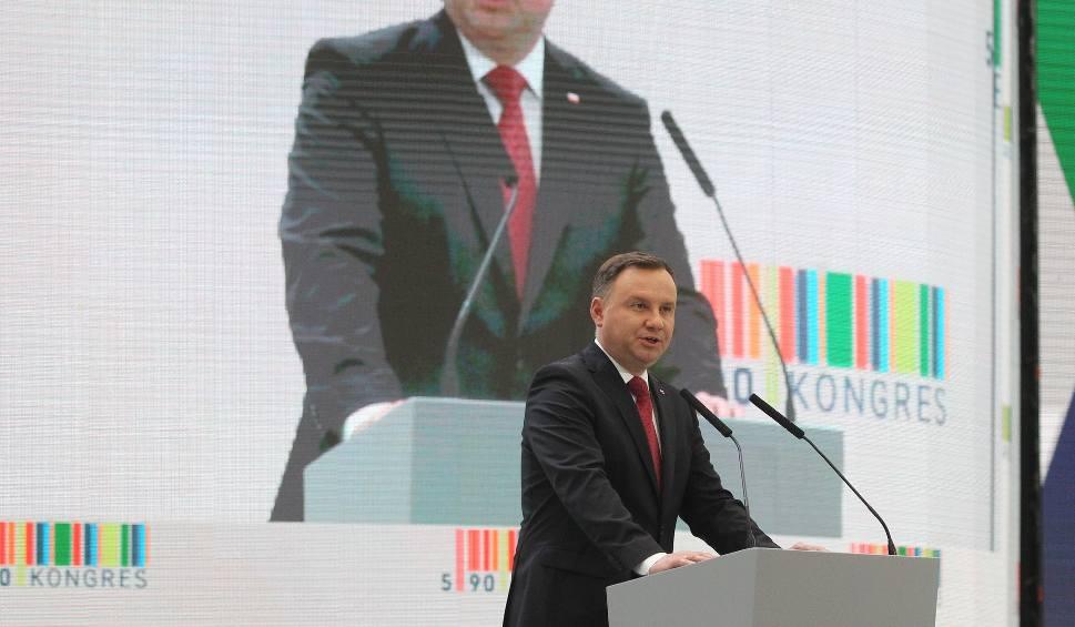 Film do artykułu: Prezydent RP Andrzej Duda na Kongresie 590 w Jasionce: Musimy budować gospodarkę nowoczesną, opartą na innowacyjności [ZDJĘCIA, WIDEO]