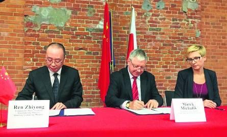 ŁSSE podpisała porozumienie o współpracy z Chinami