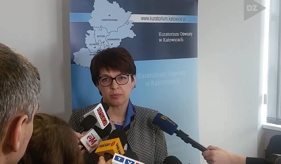 Film do artykułu: Nauczyciele emeryci chcą pomóc przy egzaminie gimnazjalnym i ósmoklasistów w czasie strajku nauczycieli - informuje Kuratorium w Katowicach