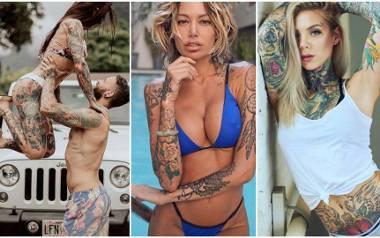 Wyzywające tatuaże na całym ciele. Jakim dziewczynom to pasuje?