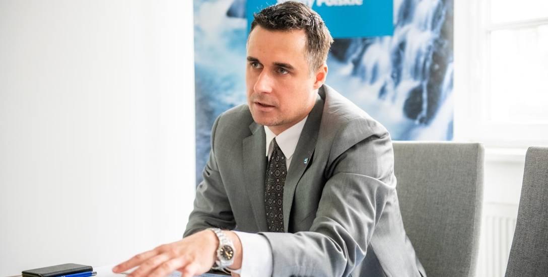 Bogumił Nowak, dyrektor Regionalnego Zarządu Gospodarki Wodnej Wód Polskich.