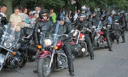 Zlot motocyklów w Łasinie