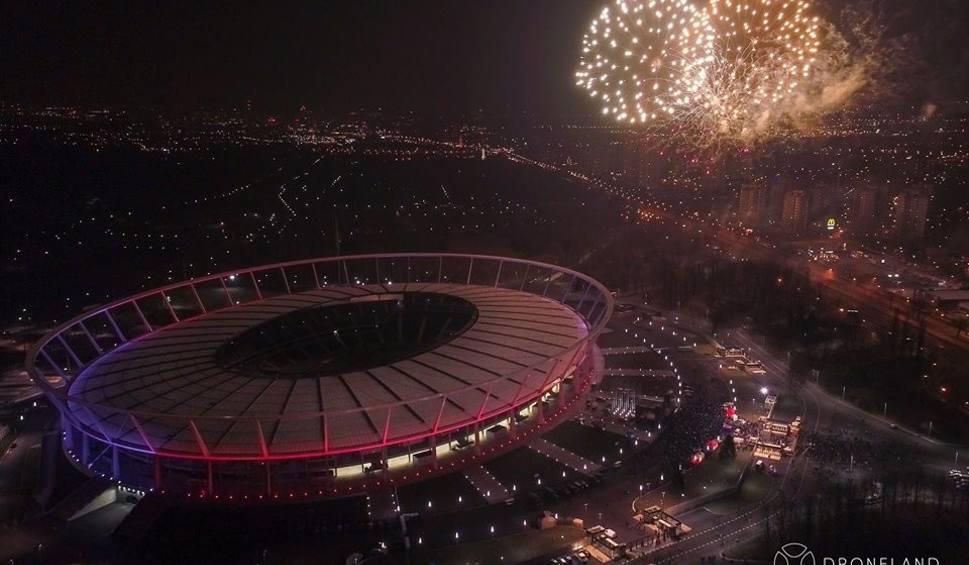 Film do artykułu: Finał WOŚP 2018 na Stadionie Śląskim i Światełko do nieba ZDJĘCIA z drona + WIDEO