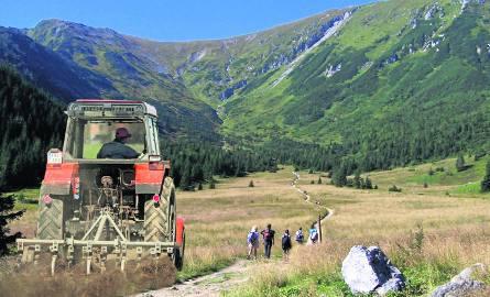 Ekolodzy w szoku! TPN chce kosić polany w Tatrach... traktorem