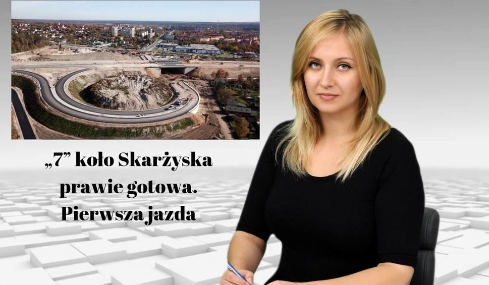 """Film do artykułu: Wiadomości Echa Dnia. """"7"""" koło Skarżyska prawie gotowa. Pierwsza jazda"""