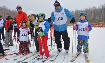 W zawodach wystartowały całe rodziny pasjonatów narciarstwa