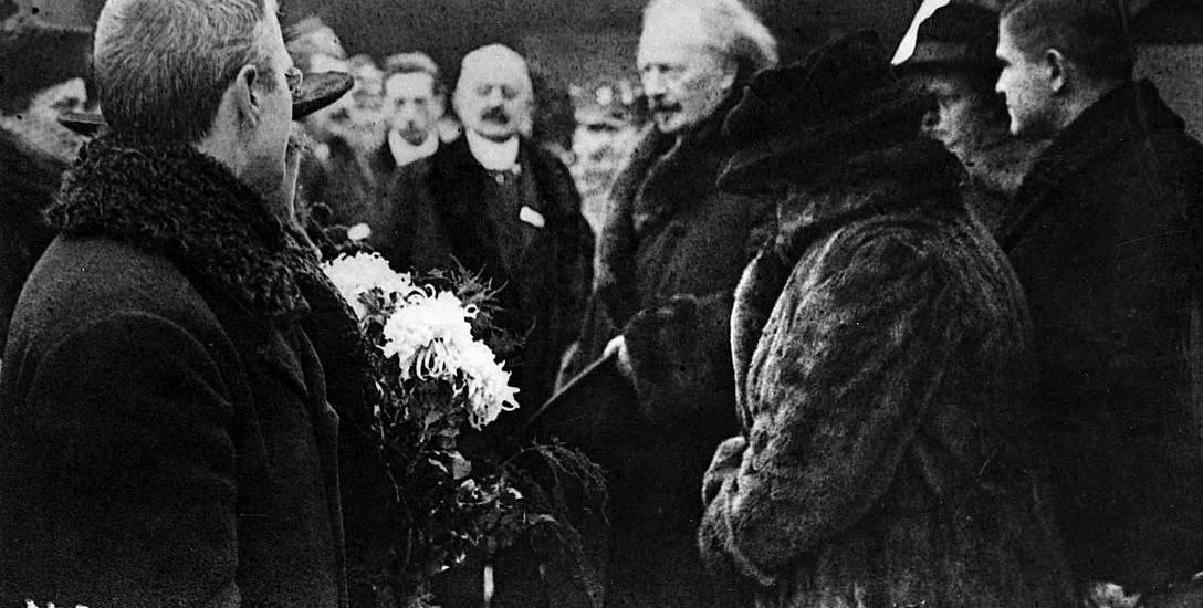 Na pokładzie krążownika Ignacy Paderewski przybył do Gdańska
