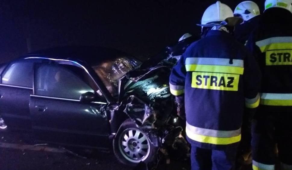 Film do artykułu: Wypadek w Janikowie. Jedna osoba trafiła do szpitala [zdjęcia]