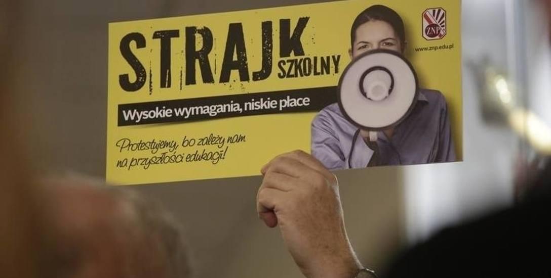 Wojna nerwów przed strajkiem nauczycieli