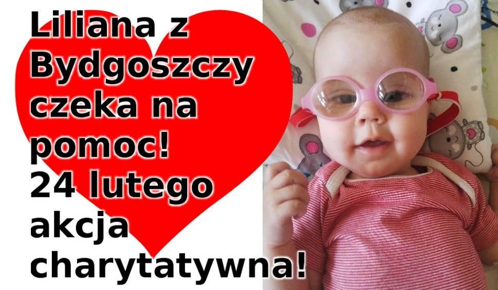 Film do artykułu: Weź udział w charytatywnej akcji i pomóż w leczeniu, Liliany Przybylskiej, ciężko chorej małej bydgoszczanki