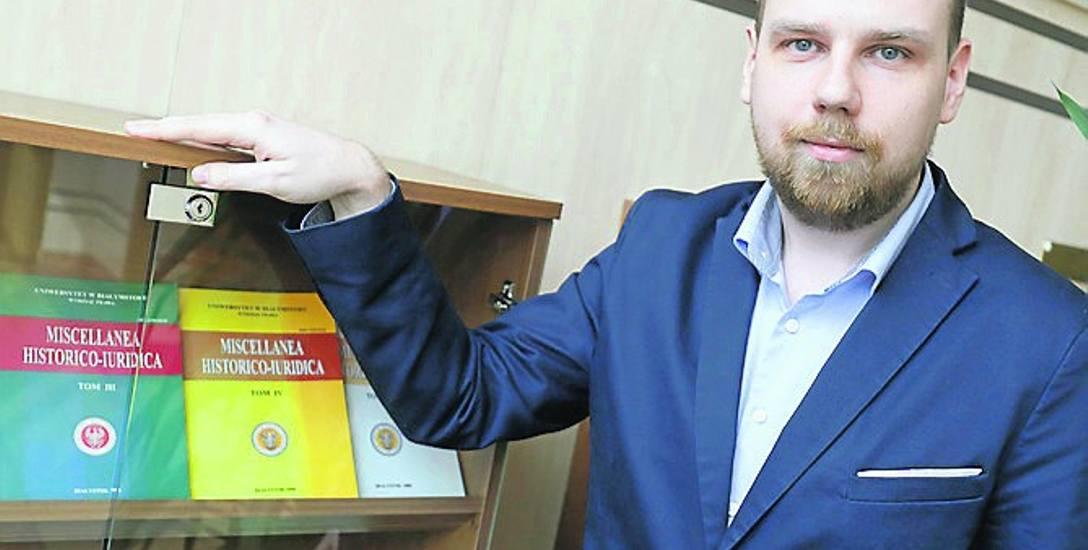 Kamil Stępniak tworzy aplikację. Bo chce, by komputer rozumiał prawo