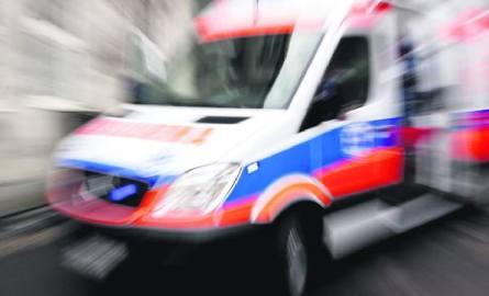 Kobieta, która chciała popełnić samobójstwo, trafiła do szpitala