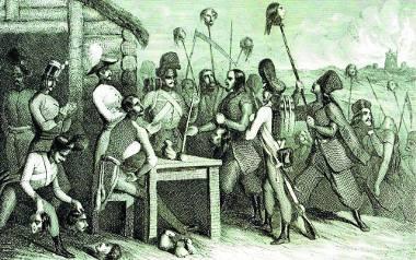 Krwawe były zapusty 1846. Chłopi rabowali majątki oraz zabijali panów