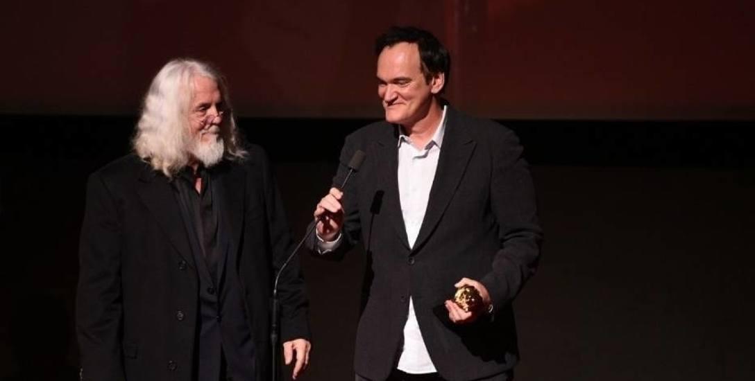 Quentin Tarantino na wspólnej kolacji z Robertem Richardsonem - autorem zdjęć filmowych jadł pierogi z kaczką