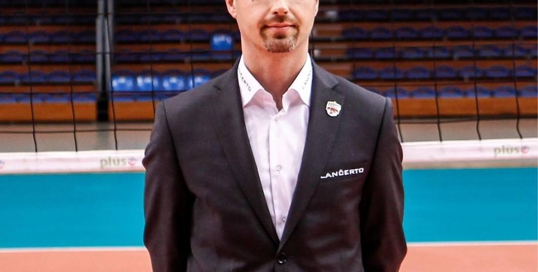 Bartosz Górski pracował wiele, lat na rzecz rzeszowskiej siatkówki
